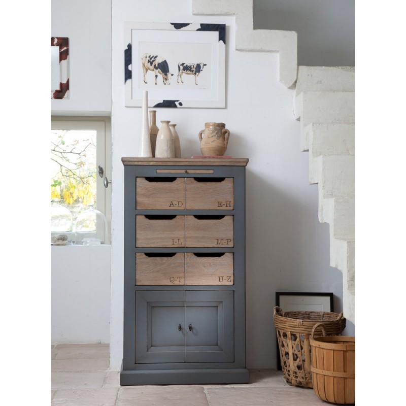 chiffonnier b rang re meubles leclerc. Black Bedroom Furniture Sets. Home Design Ideas