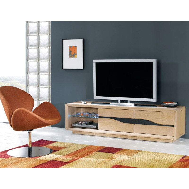 grand meuble tv ceram meubles leclerc. Black Bedroom Furniture Sets. Home Design Ideas