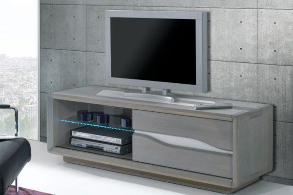 Meuble tv whitney meubles leclerc - Meuble tv chene clair ...