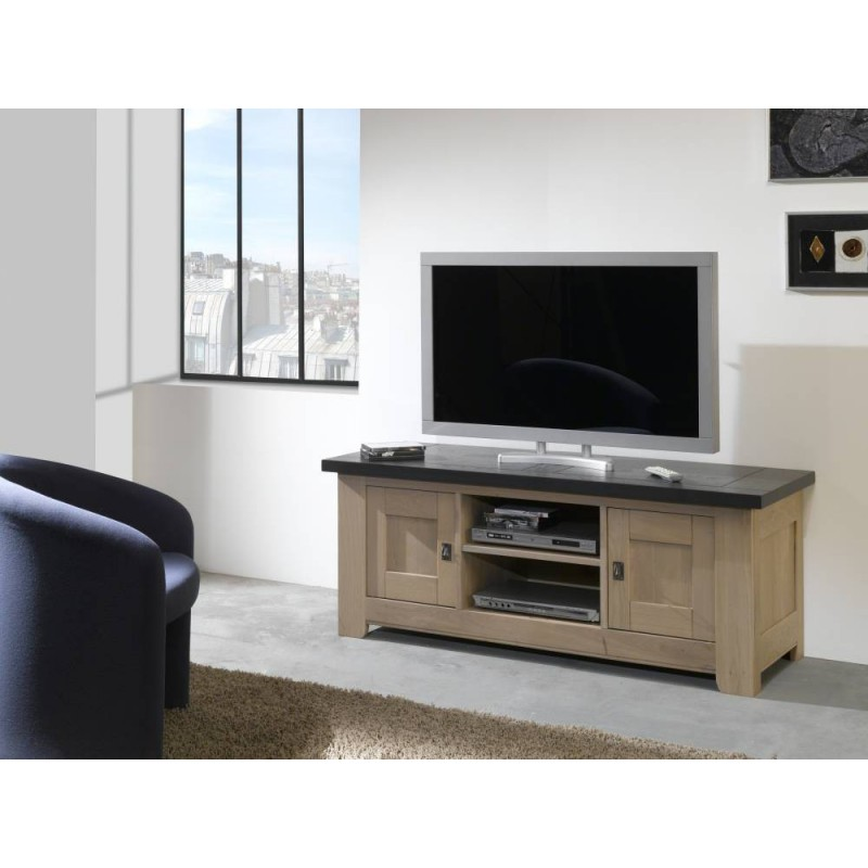 meuble tv whitney meubles leclerc. Black Bedroom Furniture Sets. Home Design Ideas