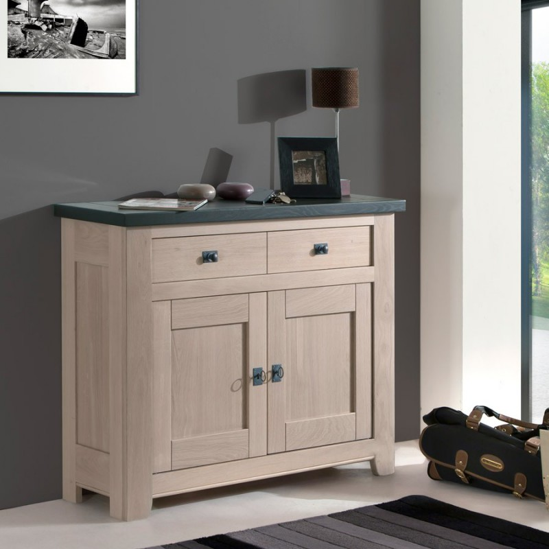 meuble d 39 entr e 2 portes whitney meubles leclerc. Black Bedroom Furniture Sets. Home Design Ideas