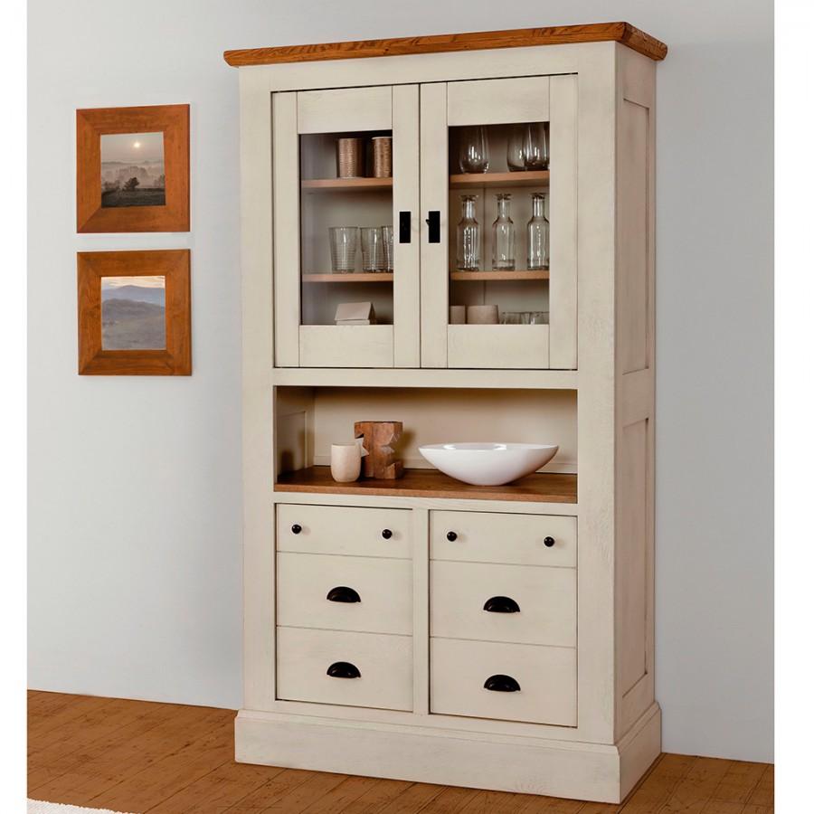 petit vaisselier romance meubles leclerc. Black Bedroom Furniture Sets. Home Design Ideas