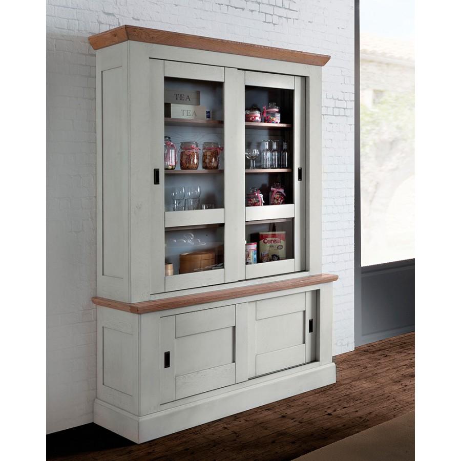 petite vitrine romance meubles leclerc. Black Bedroom Furniture Sets. Home Design Ideas