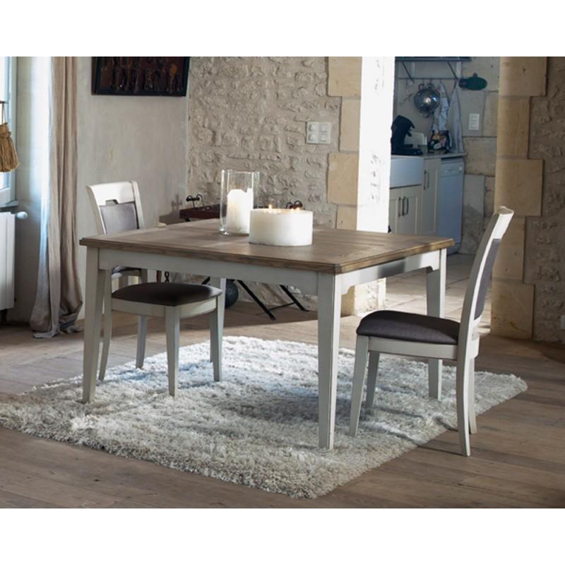 Table carrée 120 - Bérangère