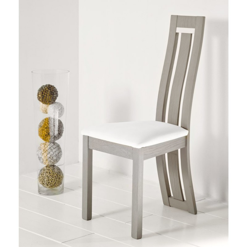 Chaise assise ivoire - Deauvil