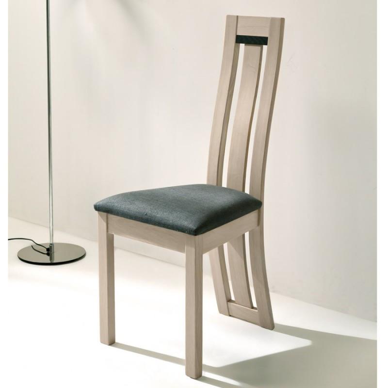 Chaise assise gris foncé - Deauvil