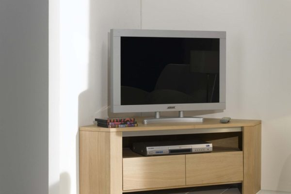 Petit meuble tv romance meubles leclerc - Meuble separation entree salon ...