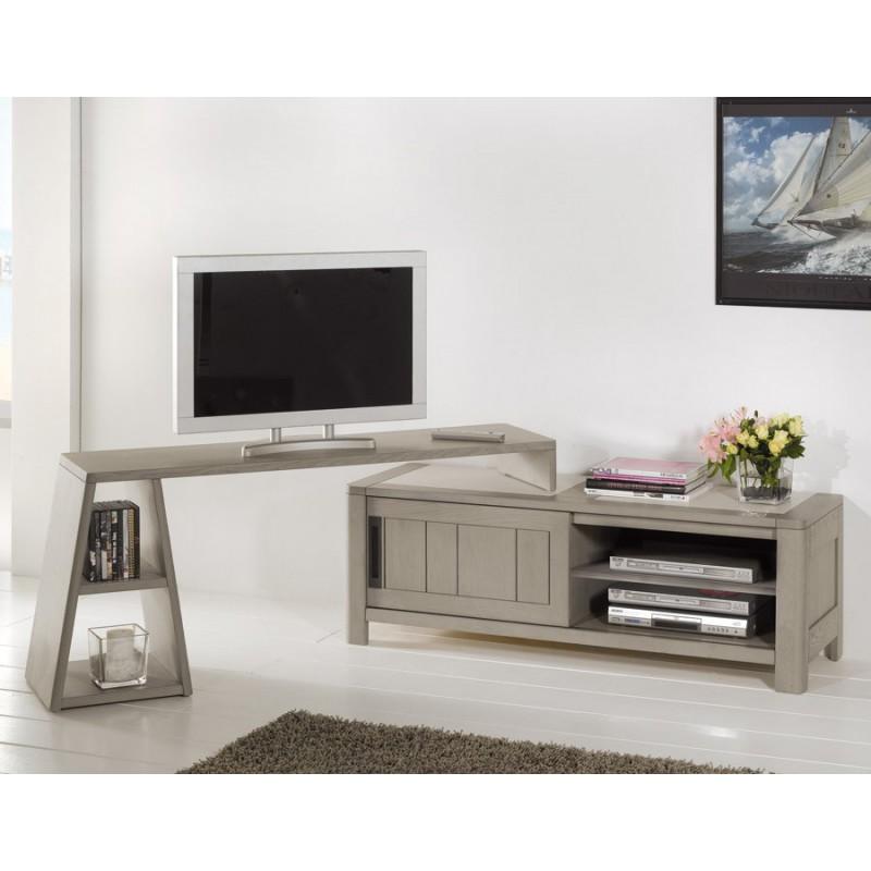 meuble tv c ramique deauvil meubles leclerc. Black Bedroom Furniture Sets. Home Design Ideas
