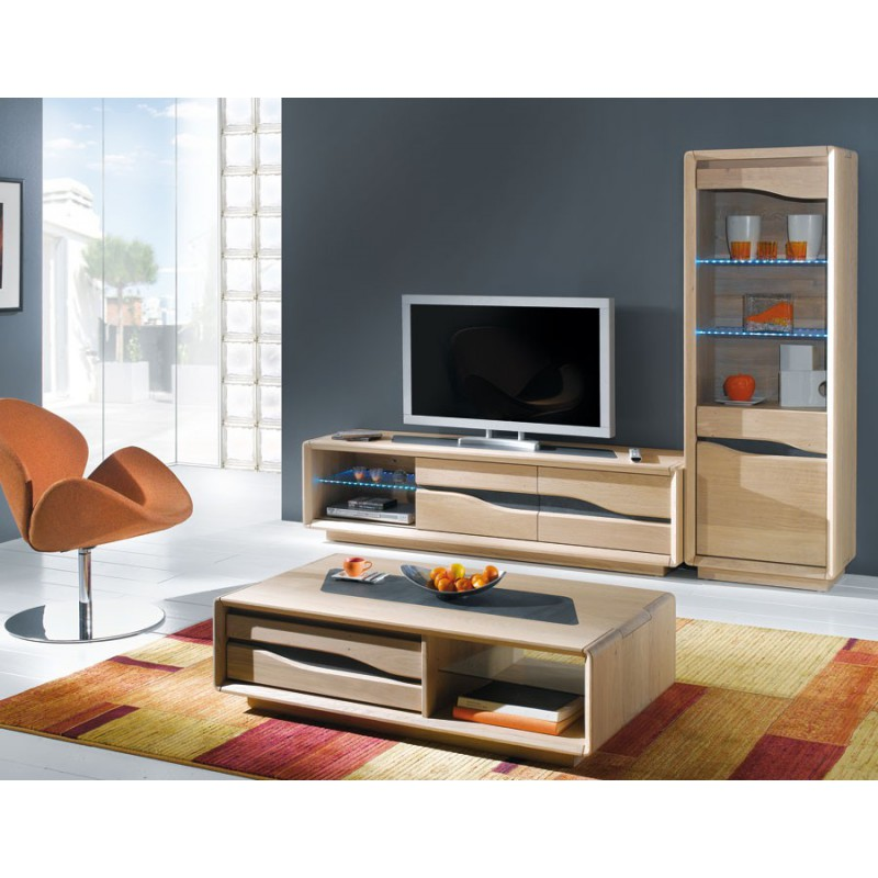 table basse rectangulaire ceram meubles leclerc. Black Bedroom Furniture Sets. Home Design Ideas