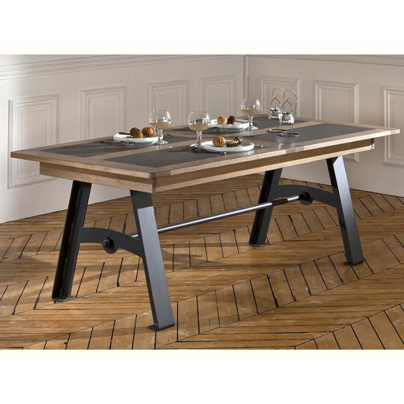 table style atelier deauvil meubles leclerc. Black Bedroom Furniture Sets. Home Design Ideas