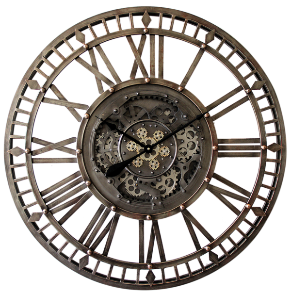 Horloge à engrenages