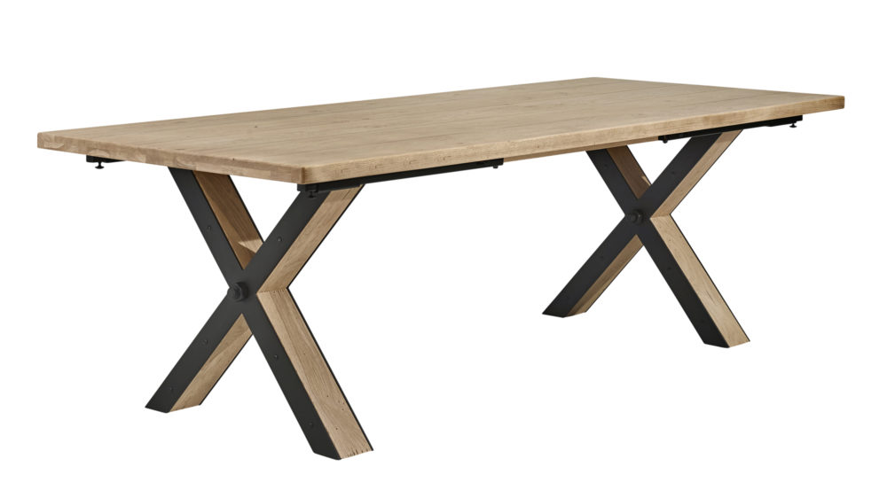 Hudson table pied X