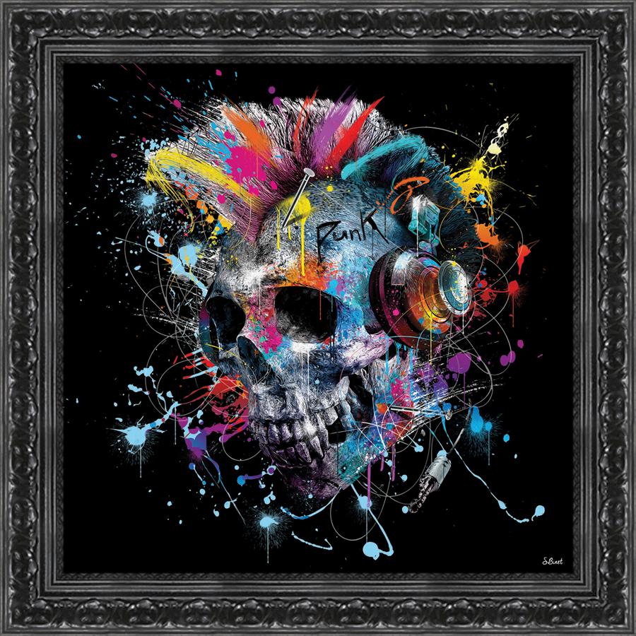 Sylvain Binet Rocking Skull